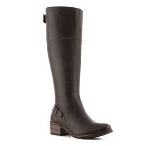 New Brown Matisse Tall Teller Leather Riding Boot